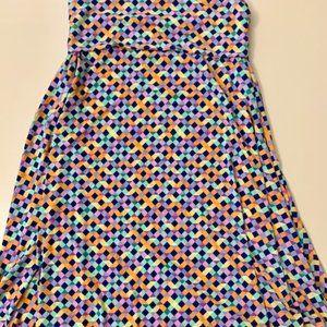 Fun multi color LulaRoe Maxi skirt